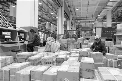 """青海邮政进入包裹快递""""春运""""模式"""