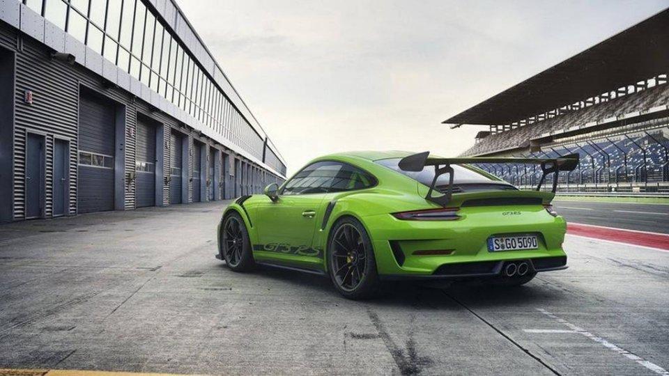 2018款保时捷911 GT3 RS 就是这样