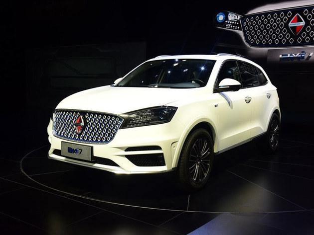 最大续航500km 宝沃BXi7将于北京车展上市