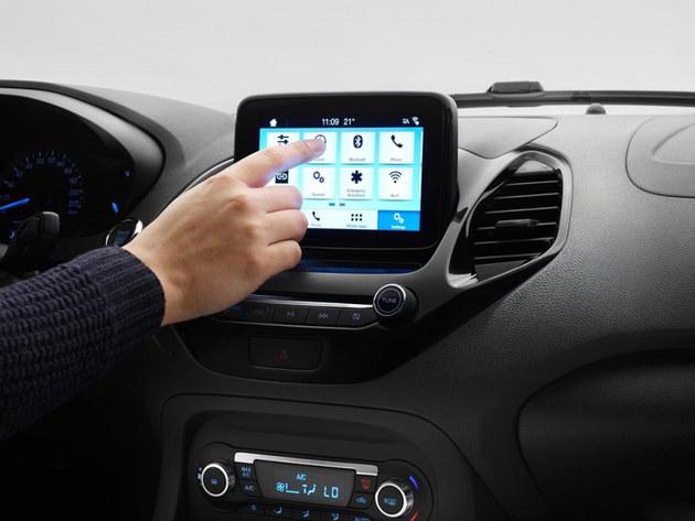福特新款Ka+官图发布 标配自动启停功能