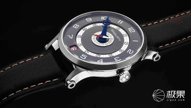 SNGLRTY手表亮相,时针分针共用一根指针