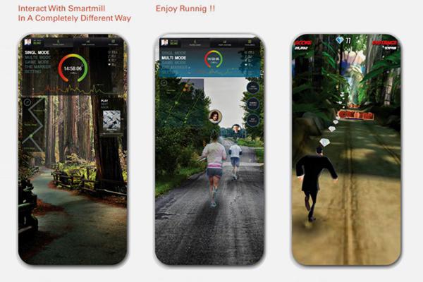 在家跑步不够酷炫?这款智能跑步机跑出画面感