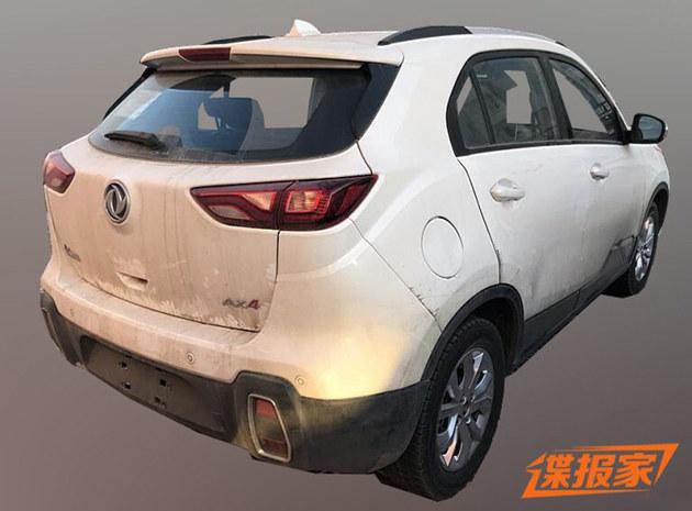 东风风神AX4 1.0T车型谍照 延续个性外观