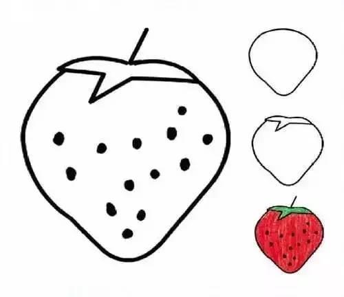 学一学,画一画,各种水果简笔画大全 为孩子收藏