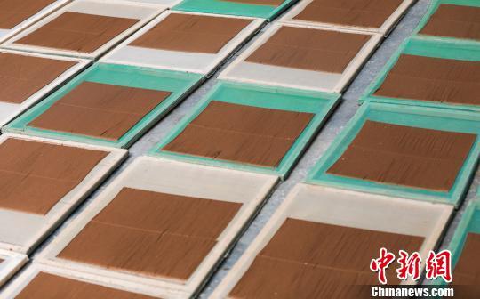 图为已经制作好的藏香,等待自然阴干。尼木县宣传部供图