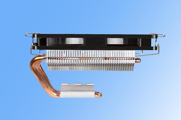 C形设计!富钧新款CPU散热器发布:支持150W TDP