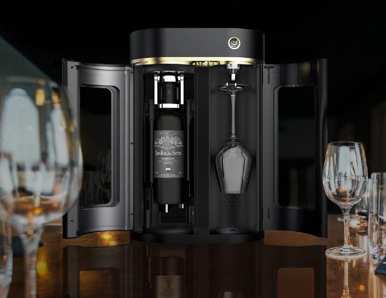 众筹也疯狂!葡萄酒智能保鲜机,维持原有风味20天