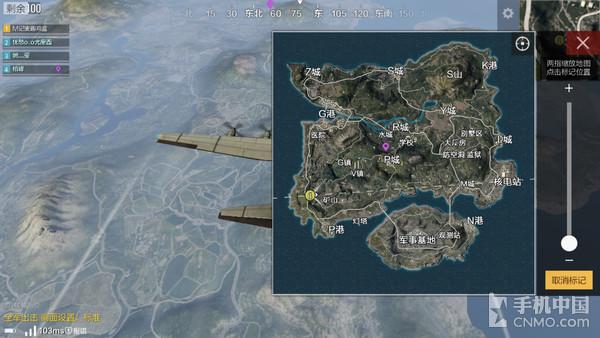 《绝地求生:全军出击》地图