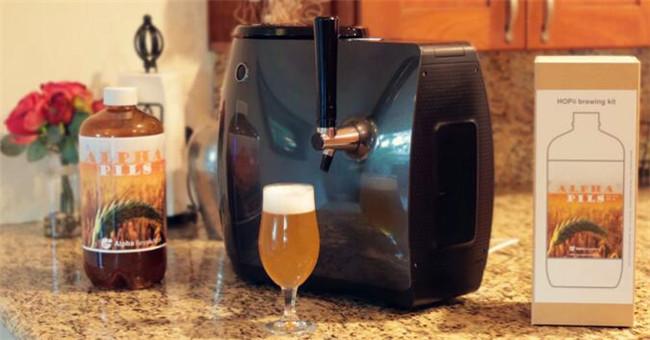 """在家也能酿啤酒,朋友聚会还怕不够""""嗨"""""""