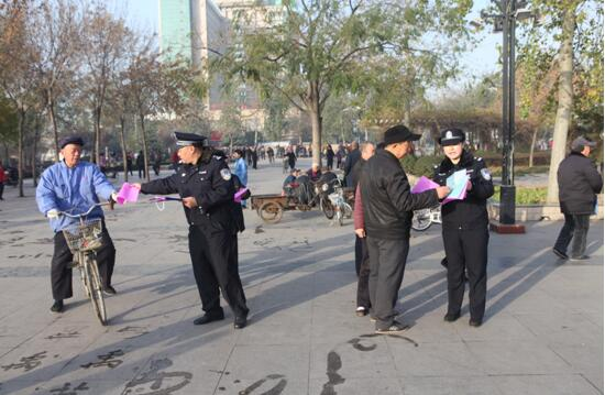 安阳市公安局殷商分局深入辖区 积极开展入户走访工作