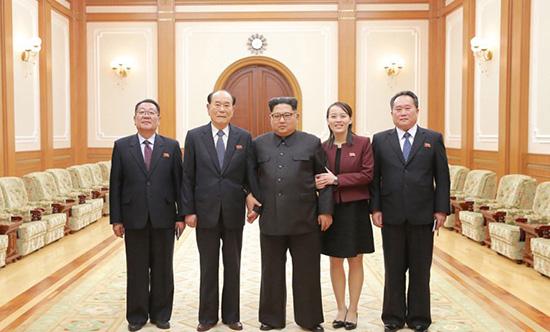 金正恩听取朝鲜高级别代表团汇报 将继续改善北南关系