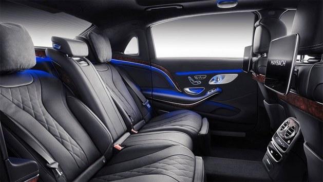 新款迈巴赫S级官图发布 日内瓦车展亮相