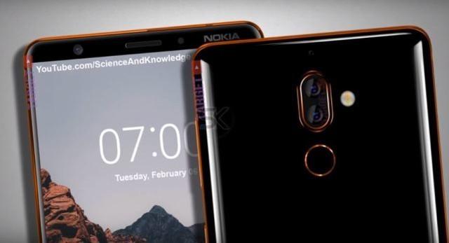 诺基亚7 plus售价曝光 3150元配置中端全面屏