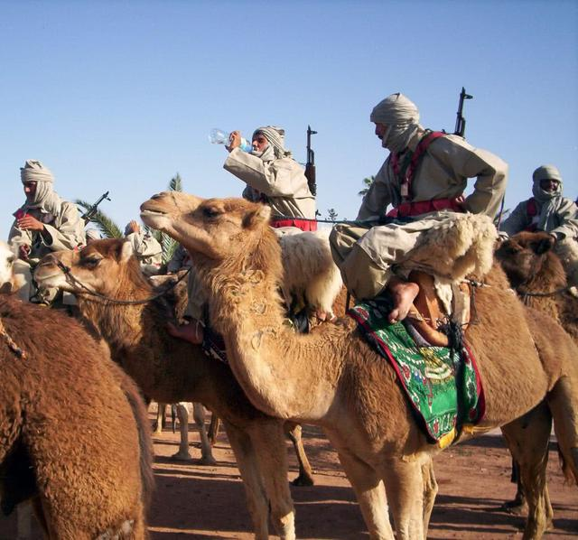 这国部队先进战机与骆驼骑兵并重,还到中国电影中客串群众演员