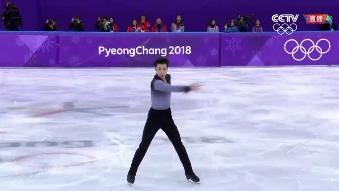 中国新花滑王子已逼近世界顶级 赛后坦言压力太大