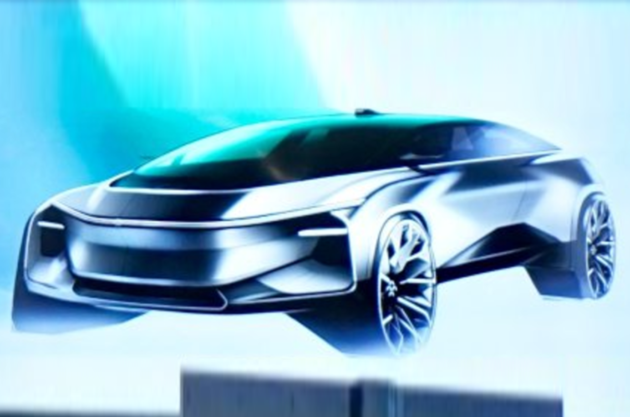 Faraday Future新车曝光 近似跨界车型