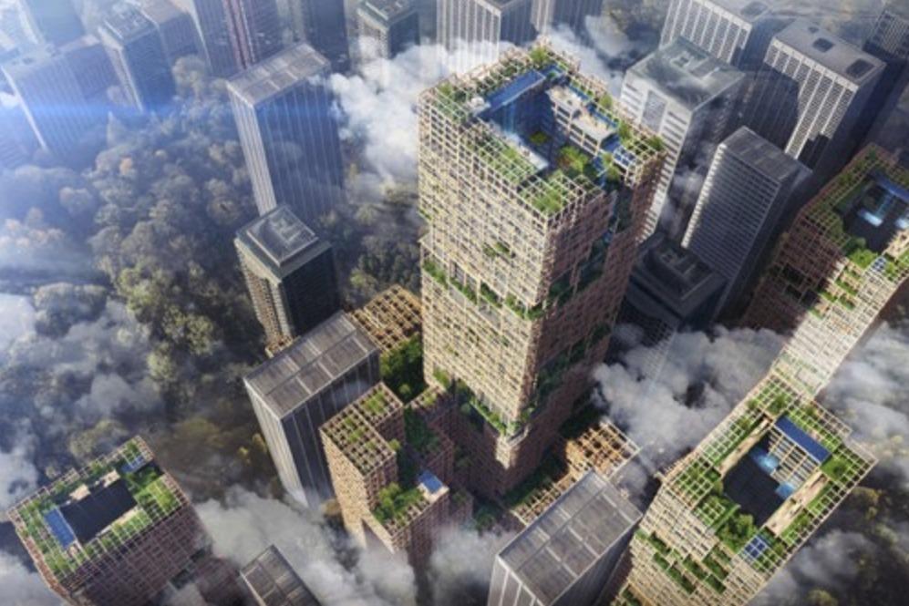 日本将斥资6000亿造这个木制建筑