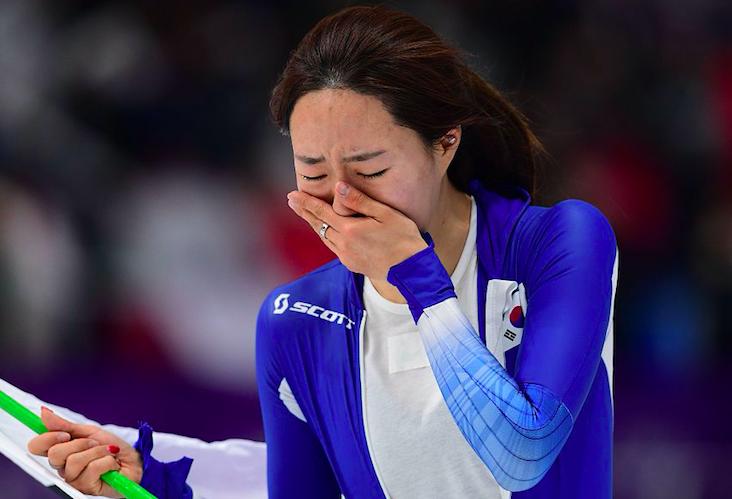 韩女神无缘3连冠崩溃大哭 日本冠军获安倍晋三表扬