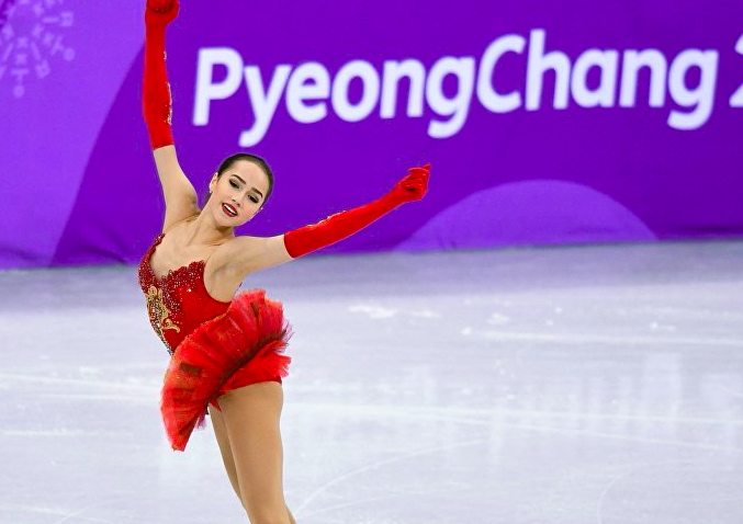 俄花滑美女被迫中断冬奥会训练 原因:需交出尿样