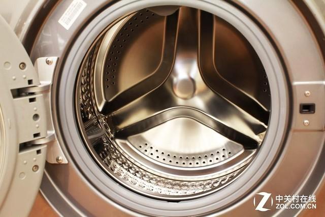 因为洗衣机内部的结构问题,洗衣机污脏一直是严重威胁用户健康的一大
