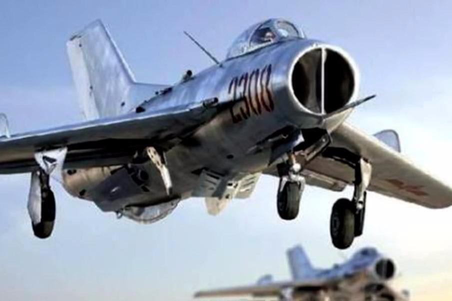 50年前海南岛上的中美空战 歼五近距离击落两架敌机