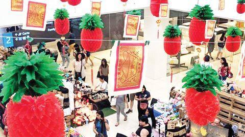 文化差异闹乌龙!菲律宾超市把冥币当新年饰品挂满店