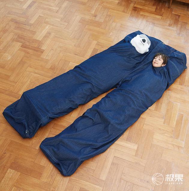 听说过穿裤子,那睡裤子咋样?微情趣用品商创意图片