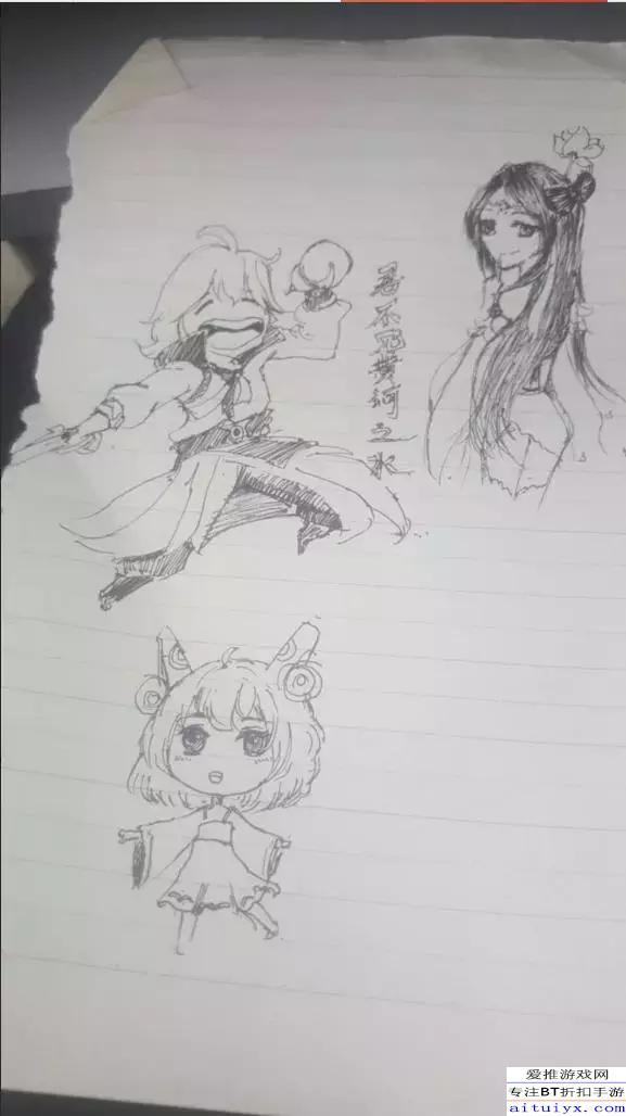 再来欣赏一下美女的手绘图,貂蝉姐姐,剑仙李白,萝莉蔡文姬,这才是