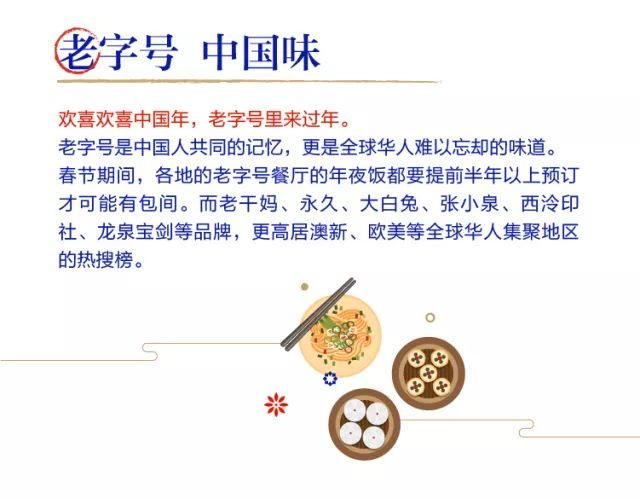 今年春节期间,店里外卖的饺子礼盒,吉祥礼盒,打包菜等,相比往年销售也