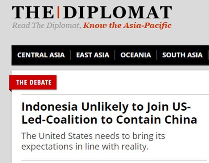 头条 美媒 印尼拒绝 魔鬼交易 不会加入美 遏华联盟