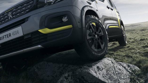 标致Rifter 4x4概念车型 日内瓦车展亮相