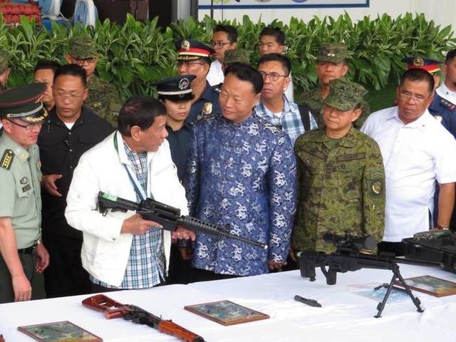 杜特尔特请求中国训练菲反恐部队?美式传统成障碍