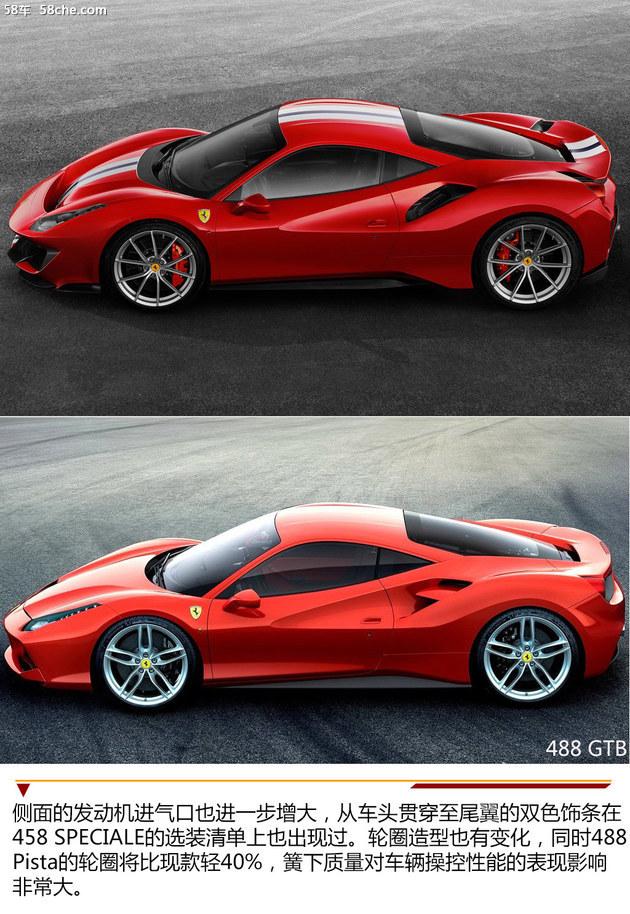 法拉利488 Pista官图 2.85秒破百/最强V8
