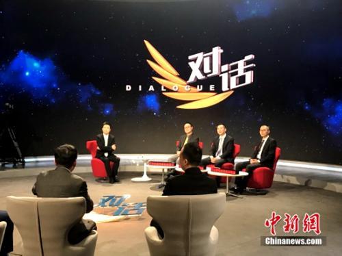 王佶参加央视财经频道《对话》