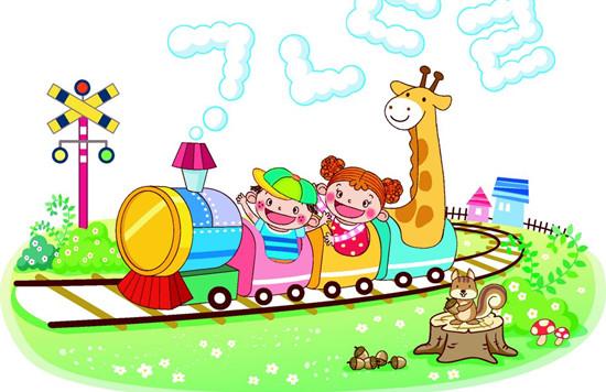 小火车爱上幼儿园 一,活动目标 1,理解故事内容和情节,感受小动物们