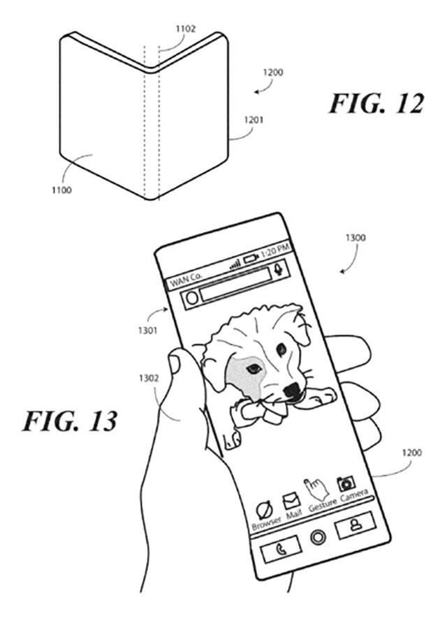 摩托罗拉新专利曝光:无边框柔性OLED屏
