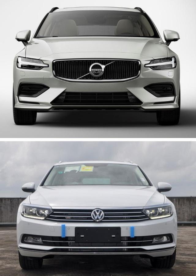 30万亲民价的旅行车怎么选?全新沃尔沃V60对比大众蔚揽