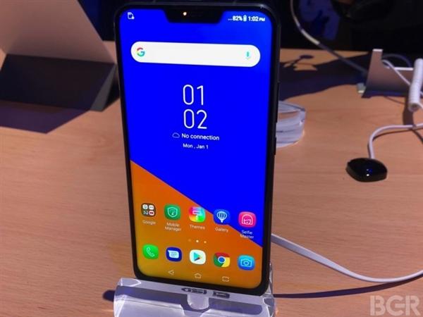 华硕ZenFone5三款齐发:骁龙845+刘海屏!