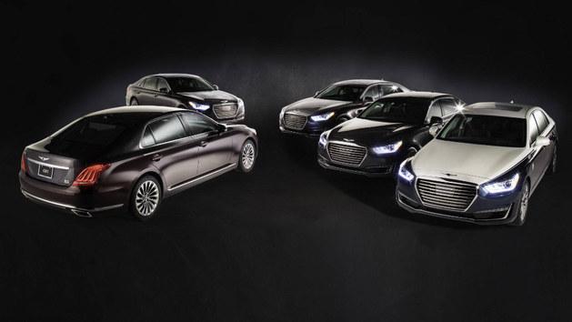 现代Genesis G90特别版 双色车身设计