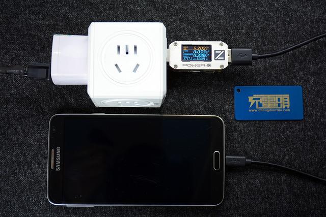 不能充电,手机充电指示灯不亮,chargerlab power-z km001 测试仪显示