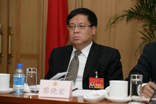 """中央巡视办原主任黎晓宏:""""打虎""""没有指标要求"""