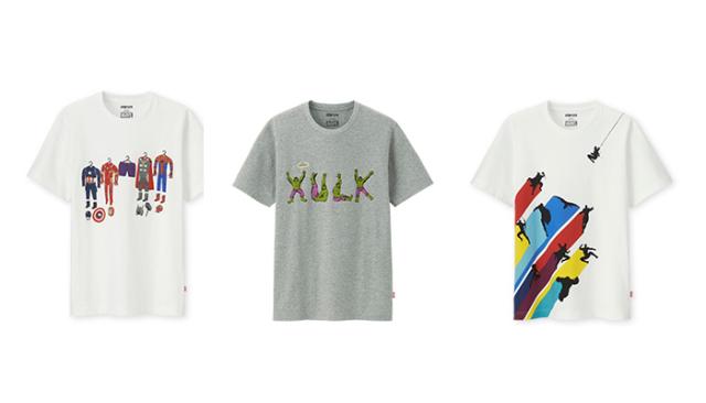 """把超级英雄穿身上,""""优衣库x漫威""""主题T恤公布"""