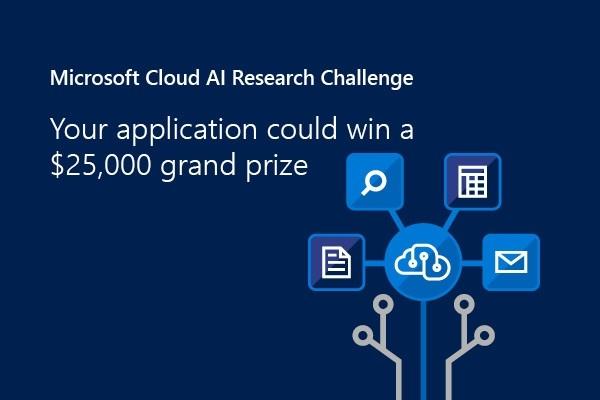微软云 AI 挑战赛,对所有学科和领域开放