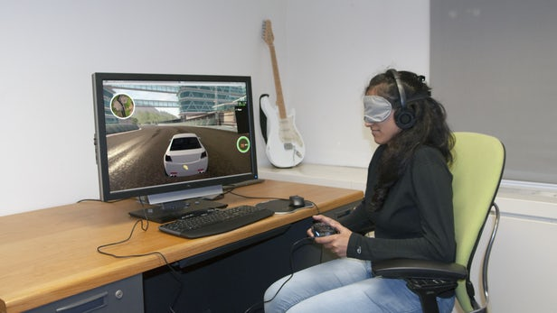 了不起的新技术!可帮助盲人玩电脑游戏