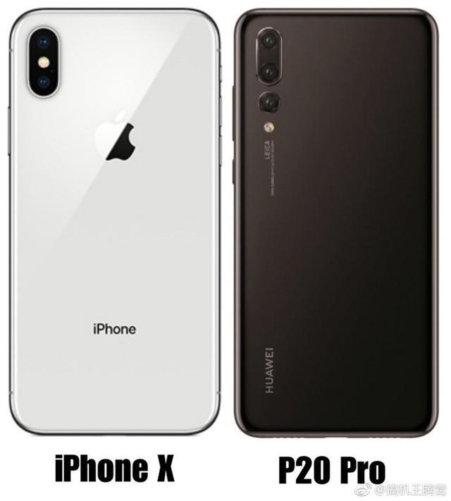 """""""刘海""""之间的对决 华为P20 Pro对飚苹果X"""