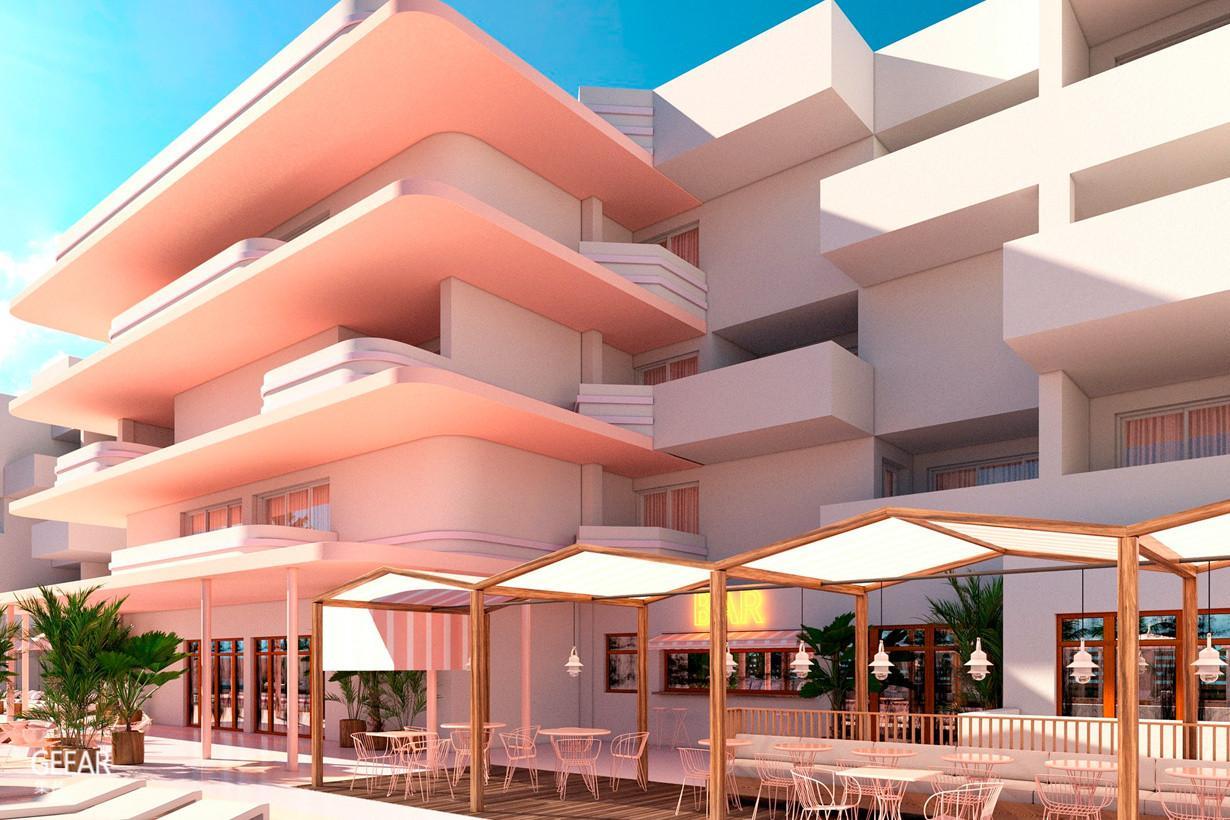 西班牙小岛的梦幻艺术饭店,美的就像住进了《布达佩斯大饭店》!