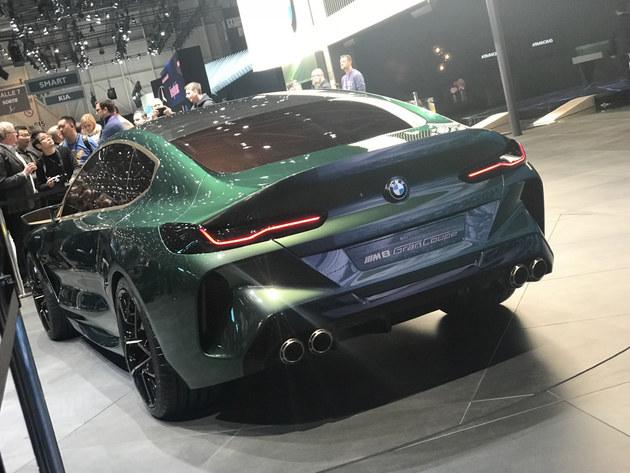 宝马M8 Gran Coupe渲染 或将2019年发布