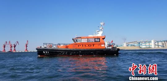 19.3米全铝合金引航艇。 朴峰 摄