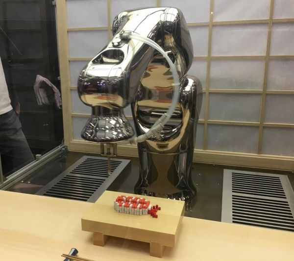 日本公司公布可打印8位像素风寿司的食品打印机