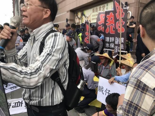 洪孟楷批蔡办侍卫长抬人:民进党使台湾民主堕落